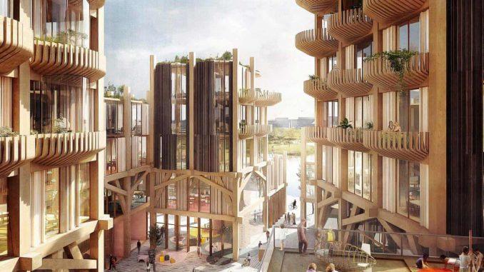 Canadian cities wooden skyscrapers