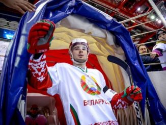 Ilya Usov, Belarus ice hockey player